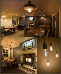 today s photo is of the farmers arms a recent pub restaurant lighting project we