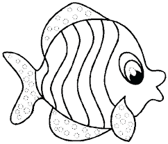 Printable Coloring Pages Of Fish Coloring Printable Fish Coloring