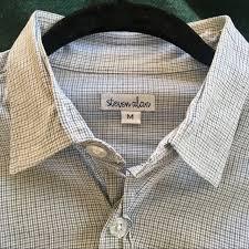 steven alan men s reverse seam on down shirt m 5a524e8ea6e3ea54d300dc36
