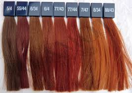Wella Koleston Red Color Chart Wella Koleston Perfect Vibrant Reds Glamot Com Cabelo