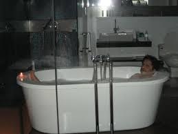 hotel maya kuala lumpur view of bathtub from our bedroom