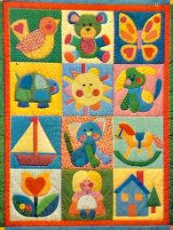 172 best Baby and toddler quilts images on Pinterest | Cute ... & Quilt Pattern with 20 Classic Appliques For Child's by SaGranny, $6.50 Adamdwight.com