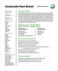 Company Fact Sheet Sample 32 Fact Sheet Templates In Pdf Free Premium Templates