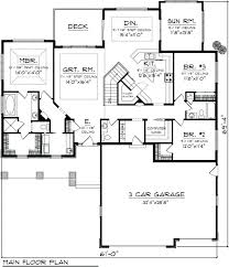 ranch house plans with sunroom savoirtous site at