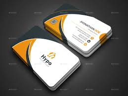 Business Card Template With Social Media Icons Free Design