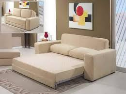 ... Rectangle White Contemporary Iron Pillow Sleeper Sofa Sectional Small  Space As Well As Sleeper Sofa For ...