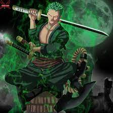Green Anime Wallpapers Zoro - Anime ...