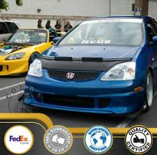 Select the year of your civic to narrow down the results. Car Bonnet Hood Bra For Honda Civic Hatchback 2002 2003 2004 2005 Ep3 Ebay