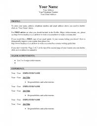 Are There Really Free Resume Templates Picture Of Really Free Resume Templates Joodeh 8