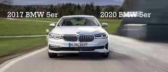 Vergleich 2017 Vs 2020 Bmw 5er Autofilou
