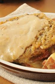 Grits Cakes With Poached Eggs And Country Gravy Recipe  MyRecipesCountry Style Gravy Recipe