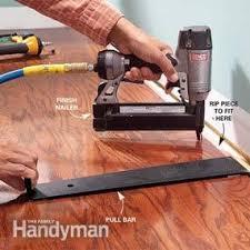install prefinished wood flooring