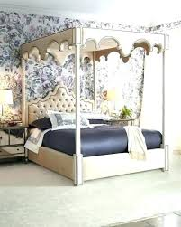 Canopy Bed With Storage Queen Canopy Bed Size With Storage House ...