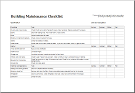 We can bring the characters together to create our own custom formats. 7 Facility Maintenance Checklist Templates Excel Templates