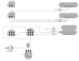 wiring diagrams page 4 kramer forum is it just a volume and 3 mini switches if so it s like a pacer custom 1 but out the extra switch for the coiltapping