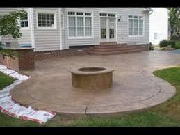 concrete patio ideas pictures
