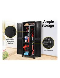 gardeon outdoor storage cabinet