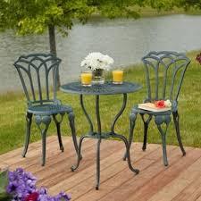 Metal Patio Furniture  Outdoor Bistro Tables  Patio Tables  The Bistro Furniture Outdoor