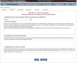How To Create And Submit A New Petition To The Iachr