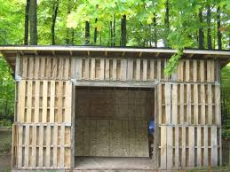 pallet shed. large shed for outdoor storage space pallet