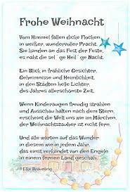 Frohe Weihnacht Christmas Gedicht Weihnachten Frohe Weihnacht