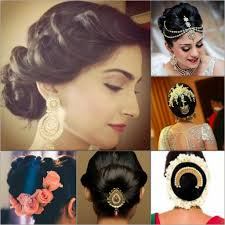 Hair Style India Indian Wedding Hairstyles For Mid To Long Hair 6193 by stevesalt.us