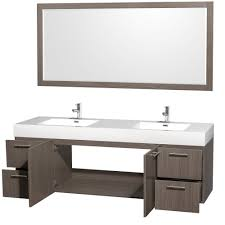 fresh design bathroom vanities 72 inch double sink room decorating ideas wyndham collection amare vanity in grey oak vessel