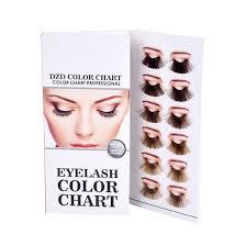 Hot Item Eyelash Color Chart For Lash Color Cream