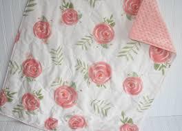 baby bedding baby girl quilt baby quilt