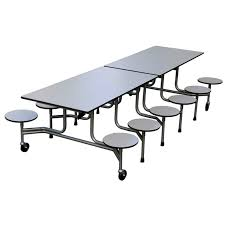 school table. Cafeteria Table With Stools School
