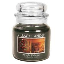 <b>Ароматическая свеча</b> Village Candle Home for Christmas Premium ...