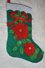 Handmade Christmas Stockings 9 Best Felt Stocking Kits Etc Images On Pinterest Felt Stocking