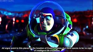 Buzz Lightyear Quotes Mesmerizing Animation Film Buzzlightyear Gif WiffleGif
