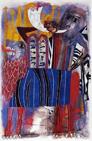 ben shahn third allegory tempera on paper 91 4 x 61 cm reproduced by permission of the vatican museums