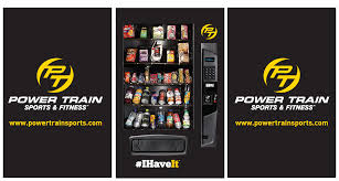 Vending Machines For Gyms Adorable Power Train Vending Machine For Power Train Gyms And Fitness Centers