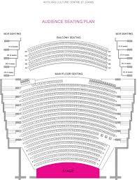 Maui Arts And Cultural Center Seating Chart Seating Plan