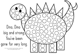 Tons Of Do A Dot Printables Great For Fine Motor Practice Slp