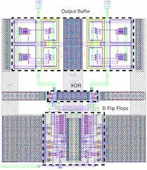 fig6 layout of digital demodulator ic layout designer