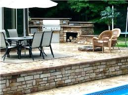 raised concrete patio decoration raised concrete patio ideas great elevated construction designated survivor diy