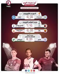 مواعيد مباريات اليوم الخميس 16 سبتمبر 2021 والقنوات الناقلة