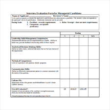 candidate assessment form sample applicant assessment rome fontanacountryinn com