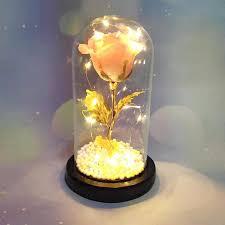 2021 factory led enchanted rose light