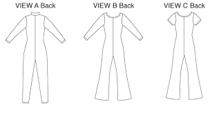 Bodysuit Sewing Pattern Magnificent K48 FullLength Bodysuits Sewing Pattern Kwik Sew Patterns