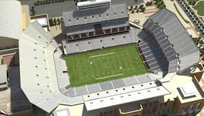 Lsu Stadium Seating Chart 3d Interactive 3d Tour Of Renovated Kyle Field And Seating For