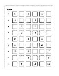 Missing Numbers Worksheets Missing Numbers Fill In The Blanks 27 Pages Of Fill In The Missing