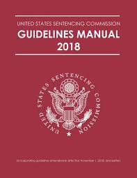 Sentencing Guidelines Chart 2017 2018 Guidelines Manual United States Sentencing Commission