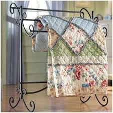 61 best metal quilt rack and quilts images on Pinterest ... & Black metal quilt rack will sit underneath the americana pictures on the  wall that you see right when you walk up the stairs. Adamdwight.com