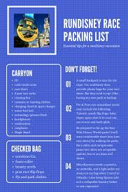 Ultimate Rundisney Packing List For The Dopey Challenge No