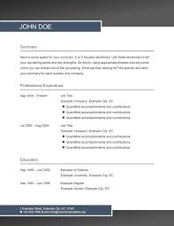 Resume Layout Templates Stunning Resume Layout Blue ResumeTemplatesorg