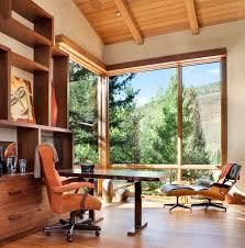 mountain modern furniture. Vail Mountain Modern Residence Rustic-home-office Furniture